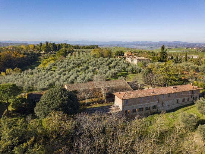 Tuscany Real Estate - Podere Torre a Castello   - DJI 0747 680x510