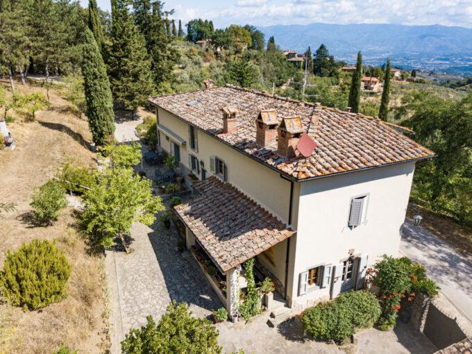 Tuscany Real Estate - Casa Poggiolo   - DJI 0158 680x510